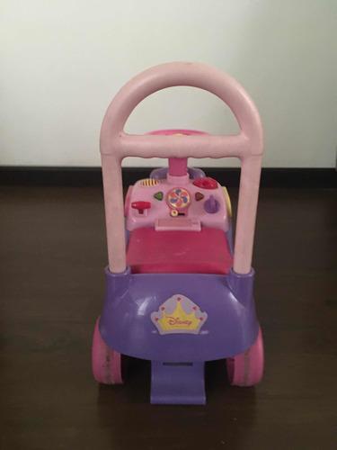 caminador princesas disney con luces y sonido