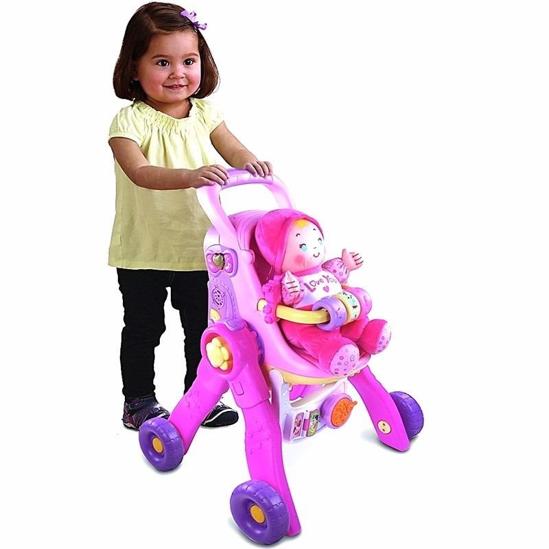 0d9fcd802 caminador rosa para niña vtech 3en1 carrito de muñecas nuevo. Cargando zoom.