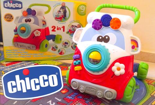 caminadora chicco happy hippy nueva original! rojo msi
