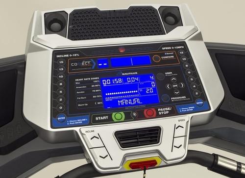 caminadora electrica nautilus t616 calidad silenciosa
