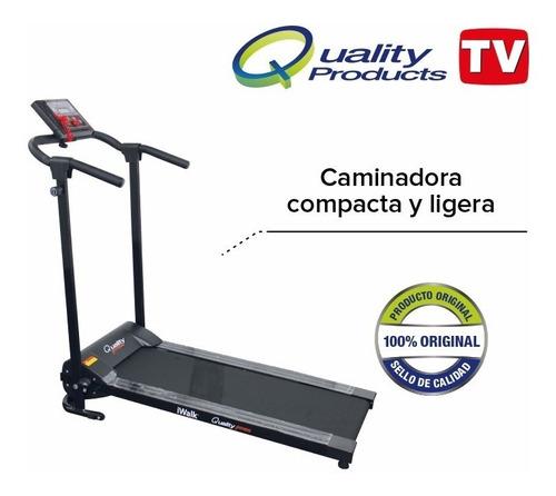 caminadora i walk 6 programas, mp3, 1-10 km/h, plegable