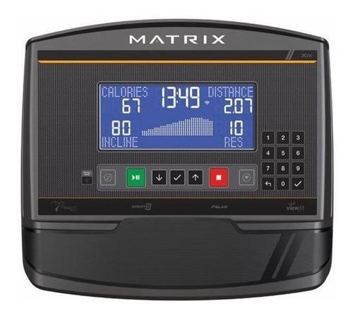 caminadora matrix tf30 con consola xr residencial
