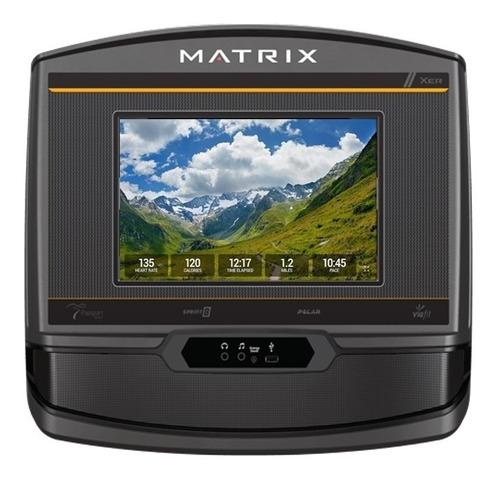 caminadora matrix tf30 xer con consola hd residencial