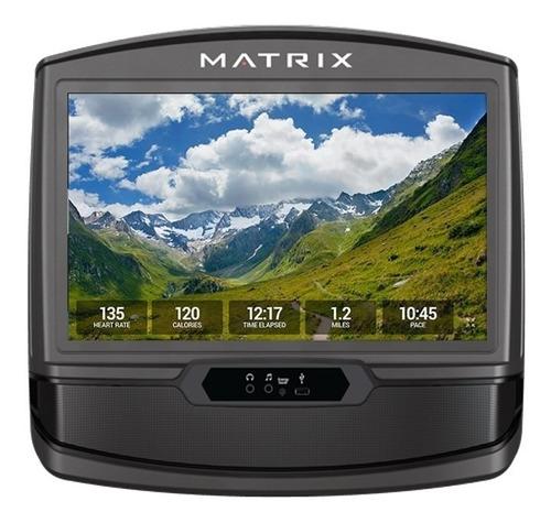 caminadora matrix tf30 xir con consola hd residencial