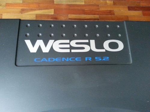 caminadora weslo cadence r 5.2