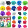 Bandas Siliconadas Para Rainbow Loom Colores X 600 Bandas
