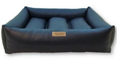 caminha cachorro impermeável confort couro brescia m 70x70cm