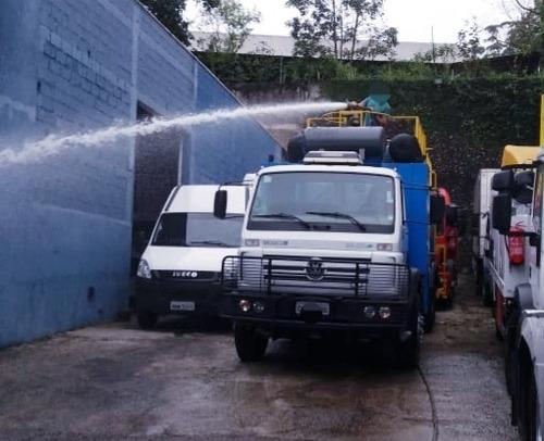 caminhao bombeiro lubrificador e pipa traçado 6x4 vw 26260