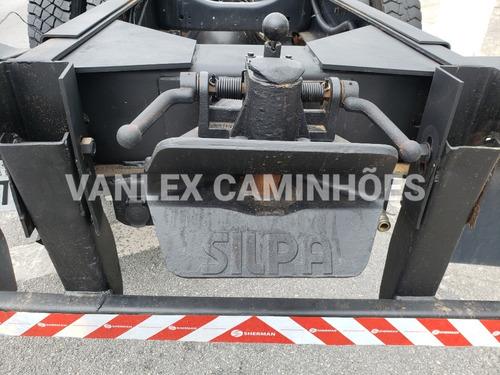 caminhao chassi plataforma  traçado vw 31390 6x4