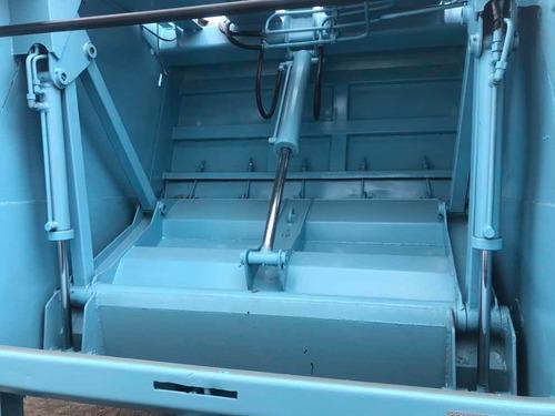 caminhao compactador de lixo mb 915 acello a toda prova