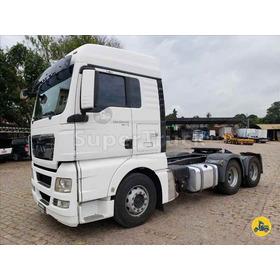 Caminhão Man Tgx 29 440 6x4 Automático C/ Ipva 2020 Pago