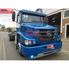 Caminhão Mb Atron 2324,2014,único Dono,o Mais Novo Do Brasil