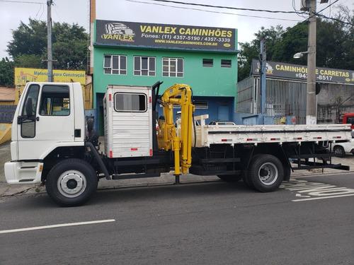 caminhao munck cabine auxiliar suplementar cargo 1317 phd