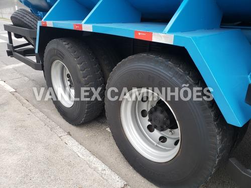 caminhao pipa traçado 6x4 15000 lts ford cargo 2628