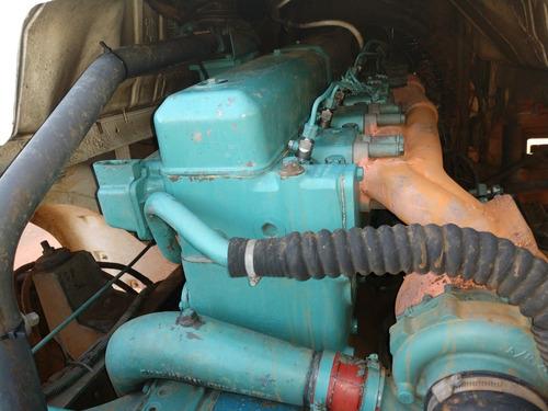 caminhao rollon rollof scania 113 6x4 motor novo