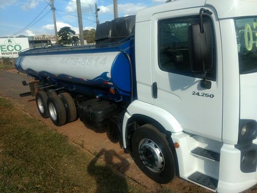 caminhão 24250 pipa tanque agua