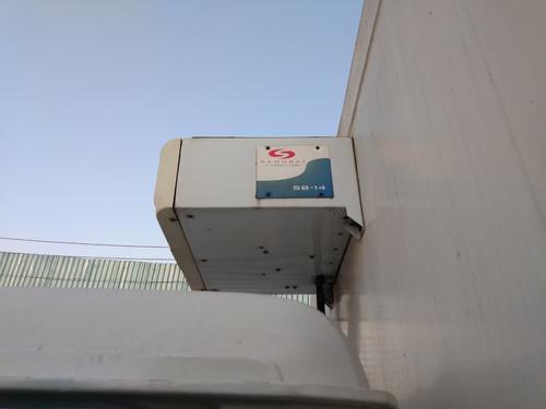 caminhão 3/4 mb 709 baú refrigerado aparelho samurai