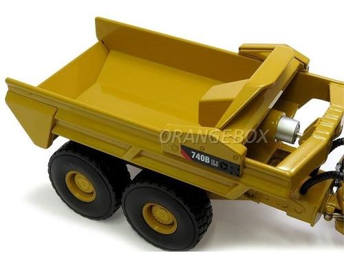 caminhão articulado caterpillar 740b ej 1:50 norscot