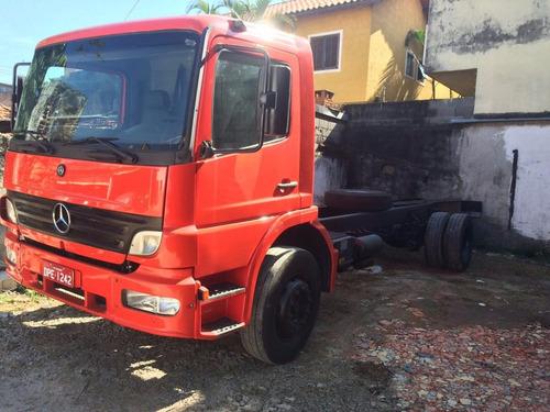 caminhão atego 1718 no chassi p/ imp. de 8,00 mts revisado