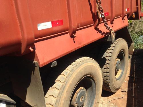 caminhão báscula traçado - mercedes-benz mb 2831