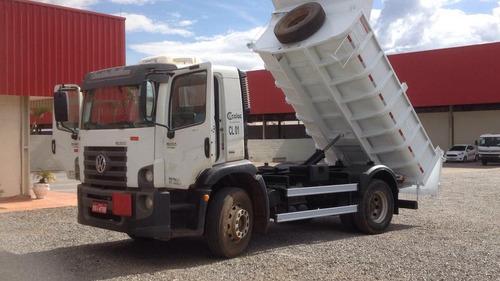 caminhão basculante vw15190 constelation- caçamba fachini