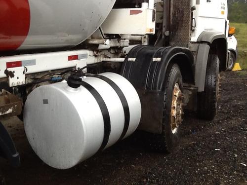 caminhão betoneira de concreto vw 26260e ano 2006 4º eixo