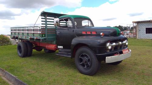 caminhão big job - ford f 8 - ano 1951