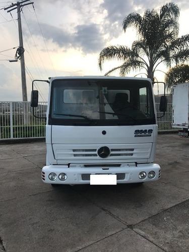 caminhão cabine auxiliar mb 914 c 1998/1999  com 9 lugares