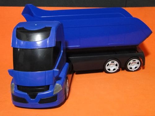 caminhão caçamba basculante tombeira comp38cm