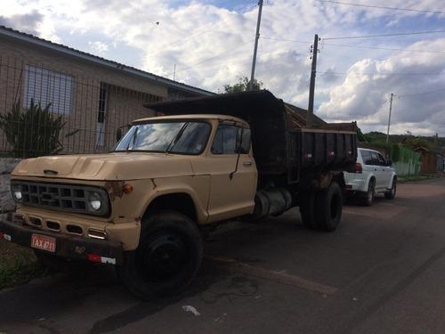 caminhão caçamba chevrolet d60