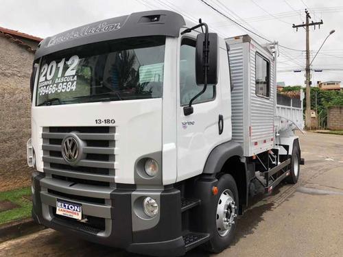 caminhão cacamba e modulo toco vw 13-180 ano 2012