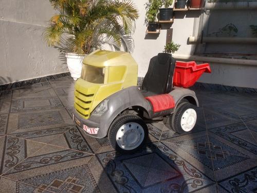 caminhão caçamba infantil