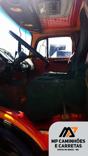 caminhão caçamba mercedes benz 1114 basculante 4x2