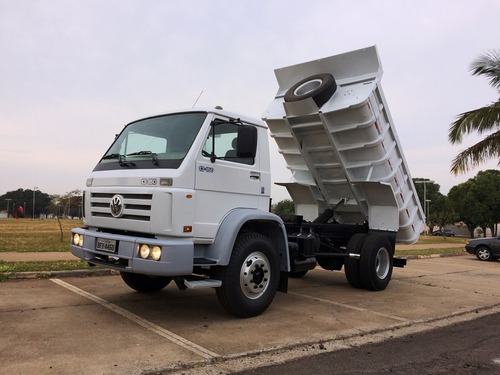 caminhão caçamba toco - impecável !!!