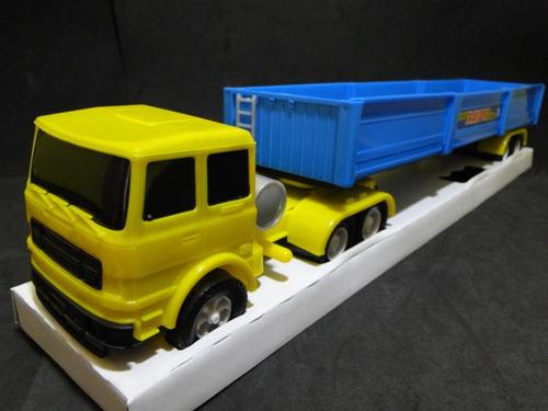 caminhão carreta comp.51cm larg.08cm alt.09  escala 1:32