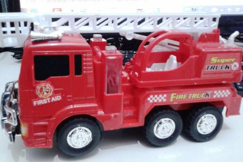 caminhão carro bombeiros com sons e luzes e movimento lindo