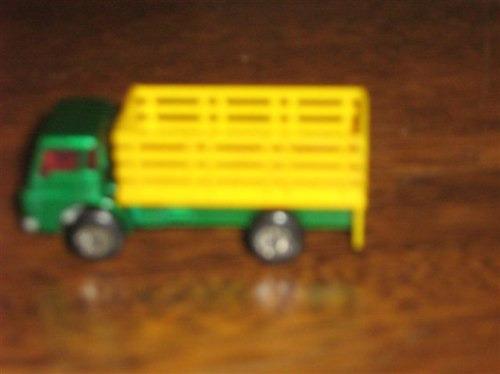 caminhão catle truck matchbox / lesney ano:1976