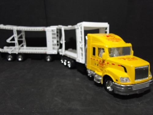 caminhão cegonha romeu julieta comp=61cm larg=08cm alt=13cm