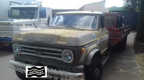 caminhão chevrolet d60 carroceria motor merc r$ 16.000.
