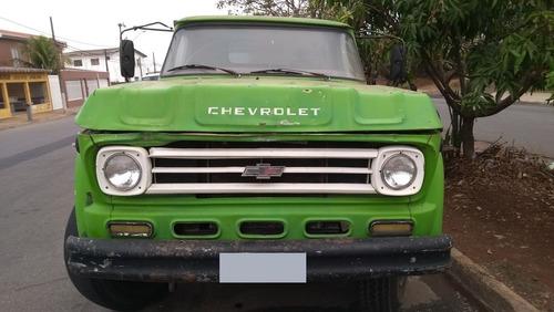 caminhão chevrolet d70 c/ basculante 4 mts³ 1974