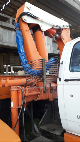 caminhão chevrolet  / munck madal md 30
