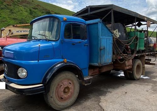 caminhão comboio mercedes benz 1113 ano 1976
