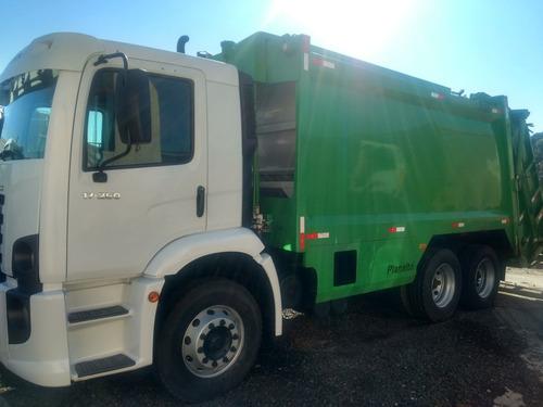 caminhão compctador de lixo vw 17250 2011 vendas e locaçao