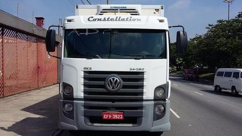 caminhão constellation vw 24250 ano 2009/10 chassis