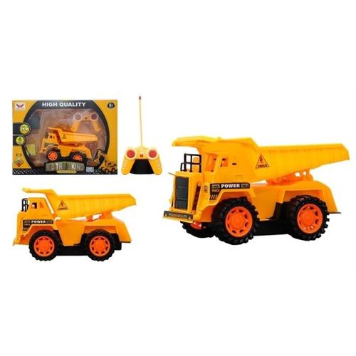 caminhão controle remoto basculante 5 canais multifuncional