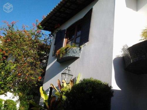 caminho das árvores 4/4  casa com gabinete, adega - tj217 - 3055796