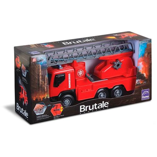 caminhão de bombeiro brutale - lançador de água - roma