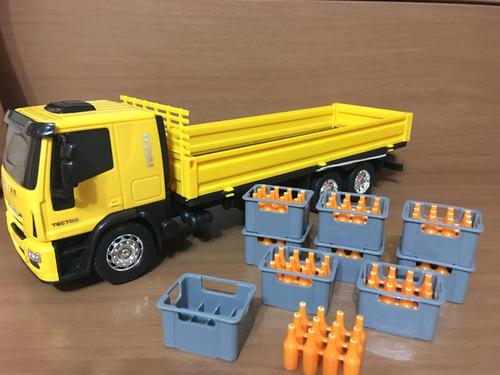 caminhão de brinquedo iveco usual promoção- confira o vídeo