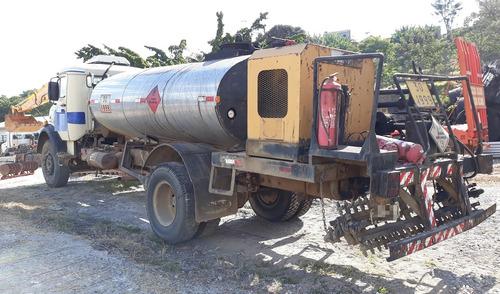 caminhão espargidor mercedes-benz l-1313 ano: 1986