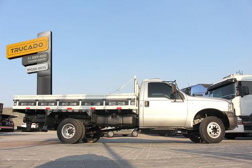 caminhão f-4000 4x2 carroceria cinza 4 tol